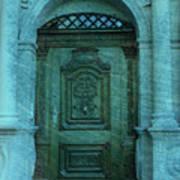 The Door To The Secret Art Print by Susanne Van Hulst