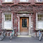 The Dorms At Trinity College Dublin Ireland Art Print
