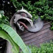 The Dragon In The Garden Art Print