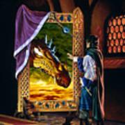 The Dragon Mirror Art Print