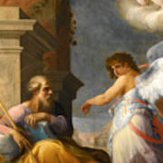 The Dream Of Saint Joseph Art Print