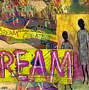 The Dream Trio Art Print