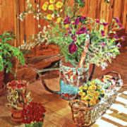 The Dried Flower Shop Art Print