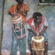 The Drummers Art Print