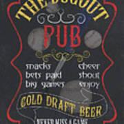 The Dugout Pub Art Print