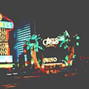 The Dunes Casino Art Print