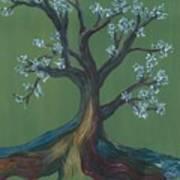 The E Tree Art Print