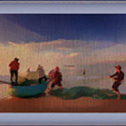 The Early Morning Catch Art Print