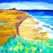 The Edge Of The Sea Art Print
