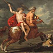 The Education Of Achilles Art Print