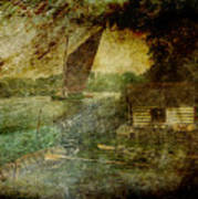 The Eel Fisher's Hut Art Print