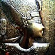Queen Of Egypt Nefertiti Artwork Art Print