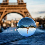 The Eiffeltower Art Print