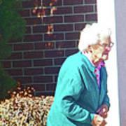 The Elderly Woman Art Print