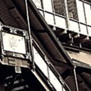The Elevated Station At 125th Street 2 Art Print