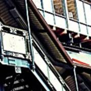 The Elevated Station At 125th Street Art Print