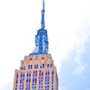 The Empire State Building 1 Art Print
