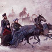 The Empress Maria Fjodorovna Art Print