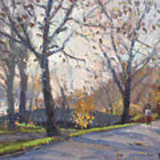 The End Of Fall At Three Sisters Islands Art Print