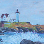 The End Of Summer- Cape Neddick Maine Art Print
