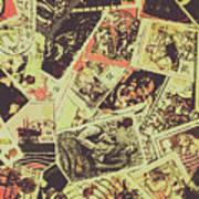 The English Postage Scene Art Print