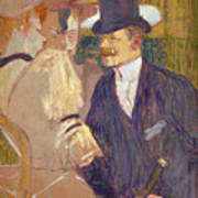 The Englishman  Art Print