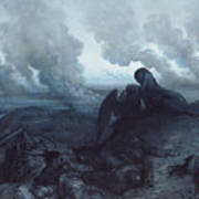 The Enigma Art Print by Gustave Dore