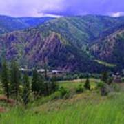 The Entiat Valley  Art Print