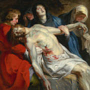 The Entombment Art Print