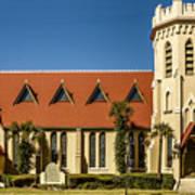 The Episcopal Church Of Fernandina Beach Art Print