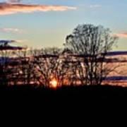 The Evening Sky Art Print