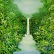 The Everlasting Rain Forest Art Print by Hannibal Mane