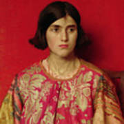 The Exile - Heavy Is The Price I Paid For Love Art Print by Thomas Cooper Gotch