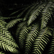 The Exotic Dark Jungle Art Print