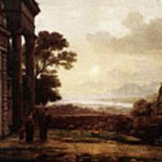 The Expulsion Of Hagar  Art Print