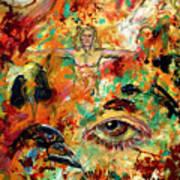 The Eye Of Art Art Print