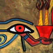 The Eye Of Horus Art Print