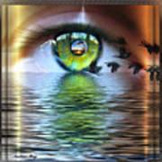 The Eye Of The Observer Art Print