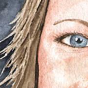 The Eyes Have It - Jill Art Print