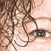The Eyes Have It - Stacia Art Print