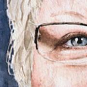 The Eyes Have It - Vickie Art Print