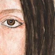 The Eyes Have It- Katelyn Art Print