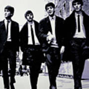The Fab Four Art Print