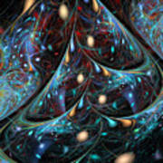 The Fabric Of The Universe Art Print
