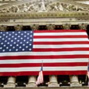 The Facade Of The New York Stock Art Print