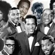 The Faces Of Motown Art Print