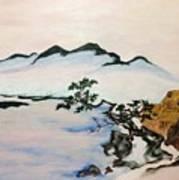 The Fading Spirit Of Chikanobu Awakened By Shintoism Art Print