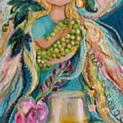 The Fairies Of Wine Series - Chardonnay Art Print