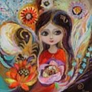 The Fairies Of Zodiac Series - Scorpio Art Print