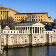 The Fairmount Water Works And Art Museum Art Print